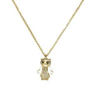 2 Kate Spade Star Bright Owl Pendant Necklace